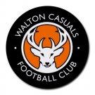 Walton Casuals FC Heat-Resistant Round Mousepad