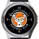 Walton Casuals FC Round Metal Watch