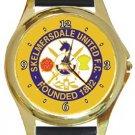 Skelmersdale United FC Gold Metal Watch