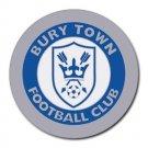 Bury Town FC Heat-Resistant Round Mousepad