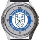 Bury Town FC Round Metal Watch