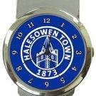 Halesowen Town FC Money Clip Watch
