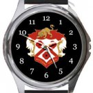Kettering Town FC Round Metal Watch