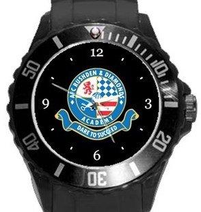 AFC Rushden & Diamonds Plastic Sport Watch In Black