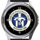 Leiston FC Round Metal Watch