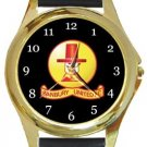 Banbury United FC Gold Metal Watch