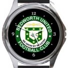 Bedworth United FC Round Metal Watch