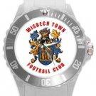 Wisbech Town FC Plastic Sport Watch In White