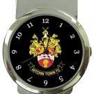 Hitchin Town FC Money Clip Watch