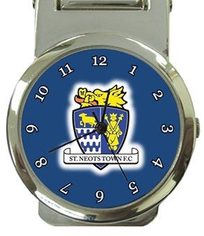 St. Neots Town FC Money Clip Watch