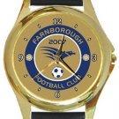 Farnborough FC Gold Metal Watch