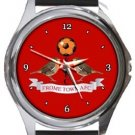 Frome Town FC Round Metal Watch