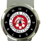 Poole Town FC Money Clip Watch