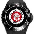 Poole Town FC Plastic Sport Watch In Black