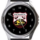 Pagham FC Round Metal Watch
