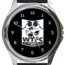 Wimborne Town FC Round Metal Watch