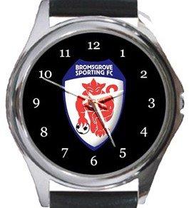 Bromsgrove Sporting FC Round Metal Watch