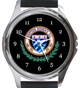 Barton Rovers FC Round Metal Watch
