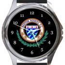 Barton Rovers FC Round Metal Watch