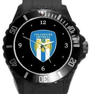 Colchester United FC Plastic Sport Watch In Black