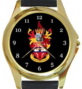 Staines Town FC Gold Metal Watch