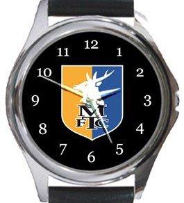 Mansfield Town FC Round Metal Watch