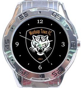Worksop Town FC Analogue Watch