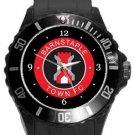 Barnstaple Town FC Plastic Sport Watch In Black