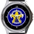 Rayleigh Town FC Round Metal Watch