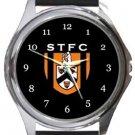 Stratford Town FC Round Metal Watch