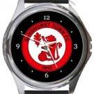 Sandhurst Town FC Round Metal Watch