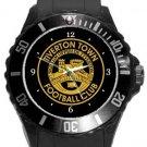 Tiverton Town FC Plastic Sport Watch In Black