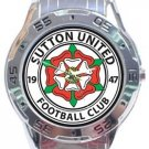 Sutton United Football Club Analogue Watch