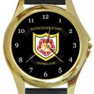 Sutton Coldfield Town FC Gold Metal Watch