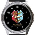 Brightlingsea Regent FC Round Metal Watch