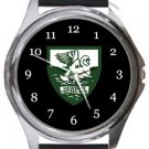 Leatherhead FC Round Metal Watch
