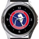 Dorking Wanderers FC Round Metal Watch