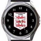 Faversham Town FC Round Metal Watch