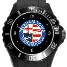 Peckham Town FC Plastic Sport Watch In Black