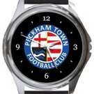 Peckham Town FC Round Metal Watch