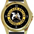 Basildon United FC Gold Metal Watch