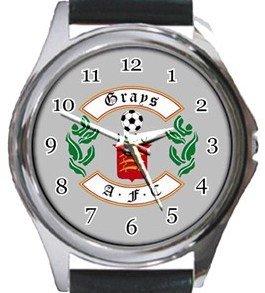 Grays AFC Round Metal Watch