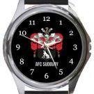 AFC Sudbury Round Metal Watch