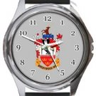 Brentwood Town Football Club Round Metal Watch