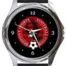 Bedfont Sports FC Round Metal Watch