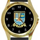 Kingstonian FC Gold Metal Watch