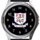 Potters Bar Town FC Round Metal Watch