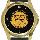 Merstham FC Gold Metal Watch