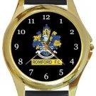 Romford FC Gold Metal Watch