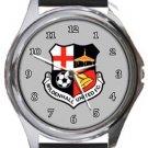 Mildenhall United FC Round Metal Watch